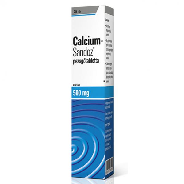 Calcium-Sandoz pezsgőtabletta 20db