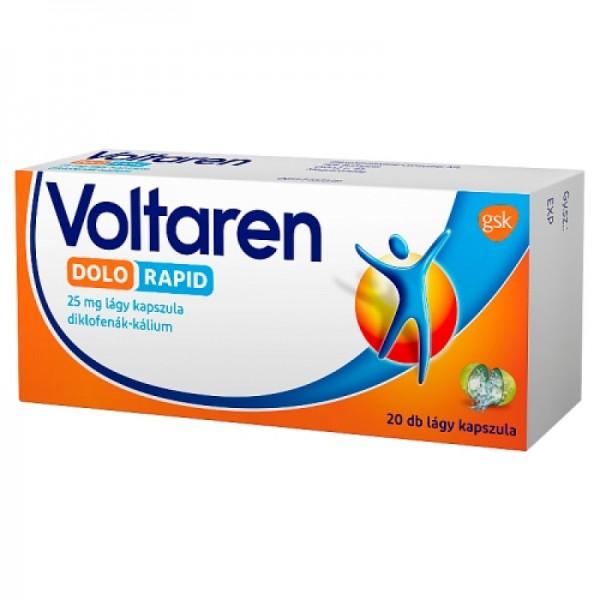 Voltaren Dolo Rapid 25 mg lágy kapszula - 20x