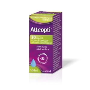 Alleopti 20 mg/ml oldatos szemcsepp - 1x10ml