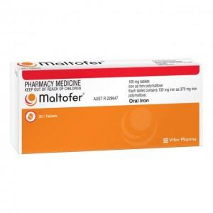 Maltofer 100 mg rágótabletta 30x