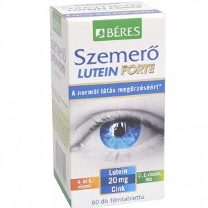 Béres Szemerõ Lutein Forte étrendkiegészítõ ftabl. 60x