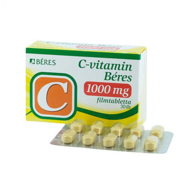 C-vitamin Béres 1000 mg filmtabletta 30x