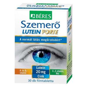 Béres Szemerõ Lutein Forte étrendkiegészítõ ftabl. 30x