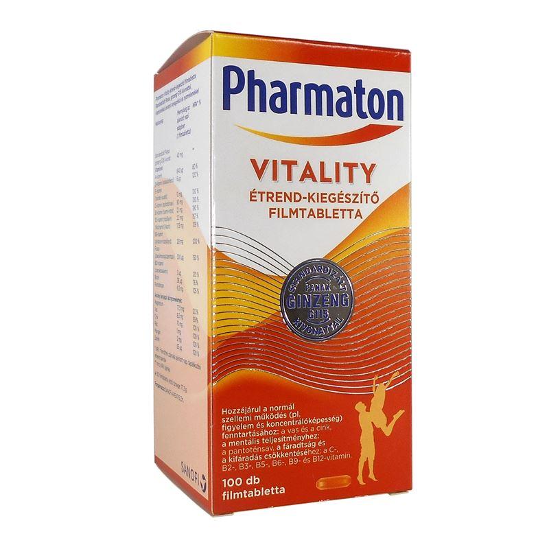 Pharmaton Vitality étrendkieg. filmtabletta 60x
