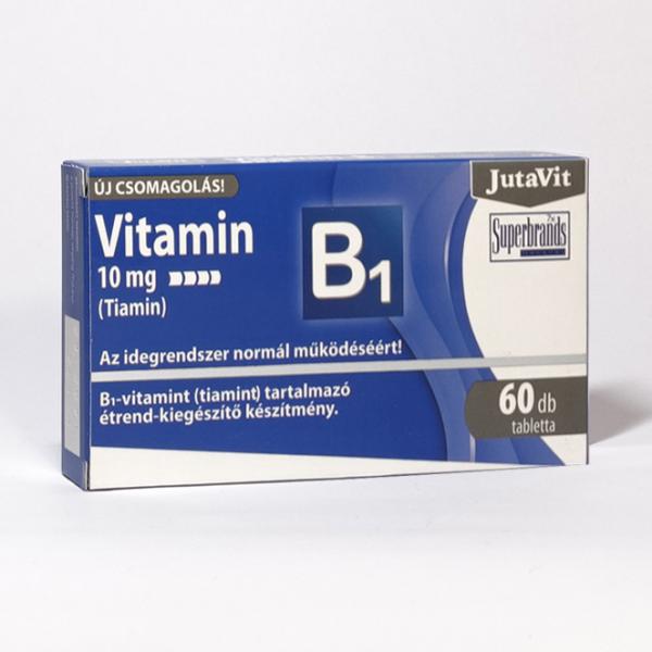 Jutavit B1 vitamin 10mg tabletta 60x