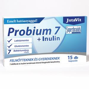 Jutavit Probium7 + inulin étrendkieg. kapszula 15x
