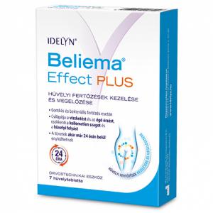 Beliema Effect Plus hüvelytabletta 7x