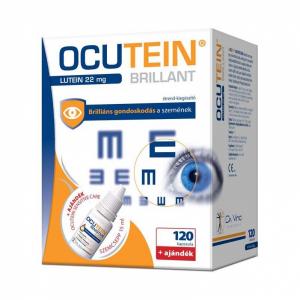 Ocutein Brillant kapsz. + Ocutein Sens. C. szemcs. 120x+1db