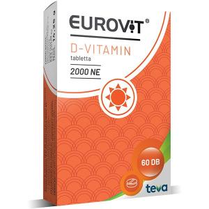Eurovit D 2000NE étrendkieg tabletta 60x